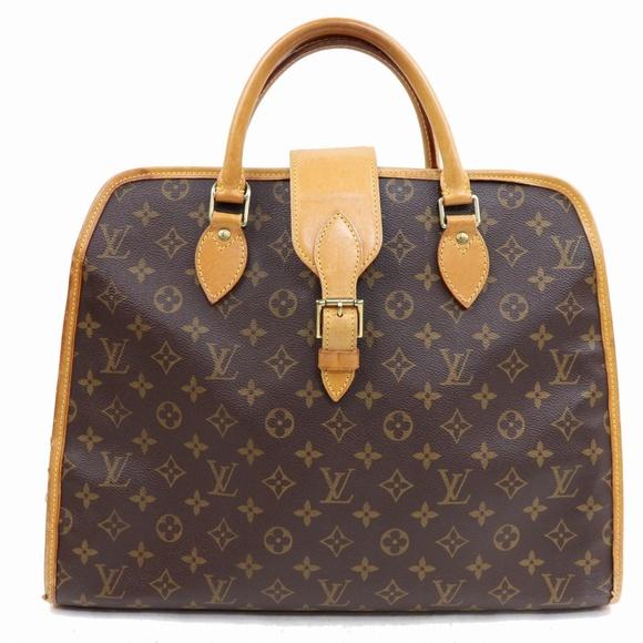 Louis Vuitton Handbags - Auth Louis Vuitton Rivoli Business Bag 416L3282